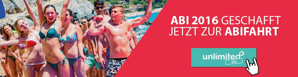 ABI 2016 - Abireise mit unlimited reisen