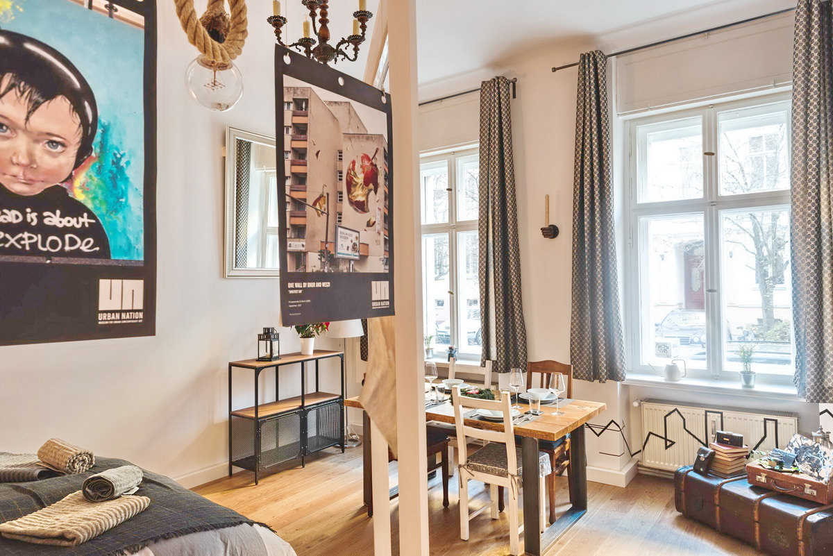 work and living apartment berlin mitte